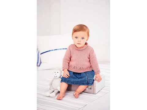 A-line Jumper & Cardigan in Stylecraft Bambino (9606)