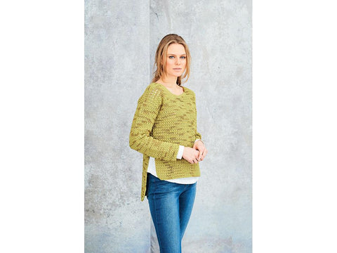 Crochet Jumper & Cardigan in Stylecraft Moonbeam DK (9628)