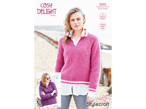 Sweaters in Stylecraft Cosy Delight Chunky (9685)