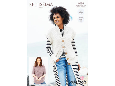 Sweater & Jacket in Stylecraft Bellissima Chunky (9695)