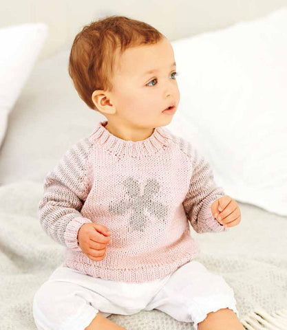 Sweater in Rico Design Baby Classic DK (299) - Digital Version