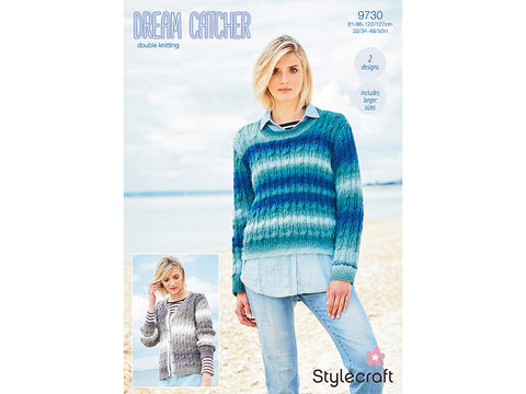 Jumper and Cardigan in Stylecraft Dreamcatcher DK (9730)