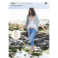 Shrugs in Rico Fashion Cotton Metallise - 722