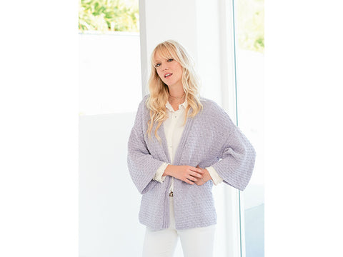Cardigan in Rico Fashion Cotton Metallise - 725