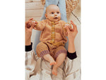 Striped Jacket and Trousers in Rico Design Baby Dream DK Uni (975)