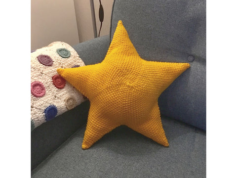Star Cushion Crochet Kit and Pattern in Stylecraft Yarn