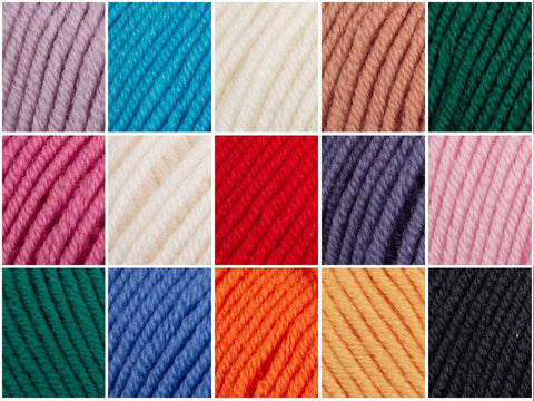 Deramores Studio Merino DK All Shades Yarn Colour Pack