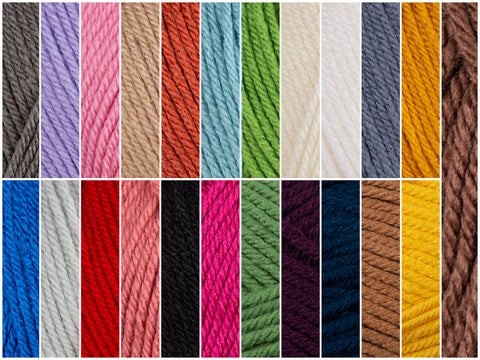 All Shades Colour Pack in Deramores Studio Aran