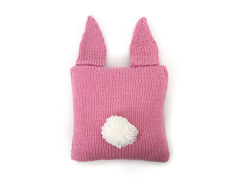 Rabbit Cushion in Deramores Studio Chunky - By Amanda Berry