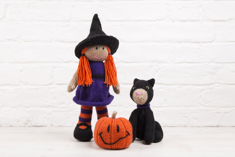 Halloween at Deramores - Blair the Witch, Jack O'Lantern and Dera-Mog in Studio DK