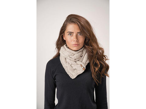 Ava Scarf Crochet Kit and Pattern in Patons Yarn