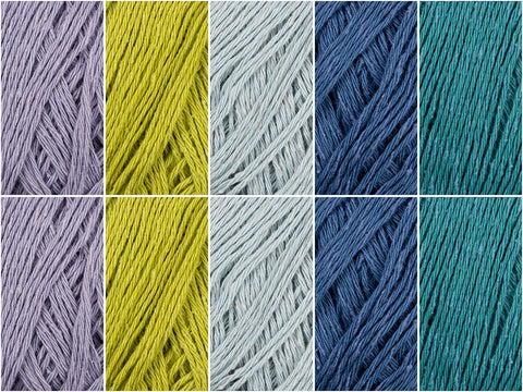 Birthstone Colour Pack in Rowan Silky Lace