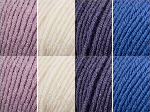Deramores Studio Merino DK Blue Moon Colour Pack