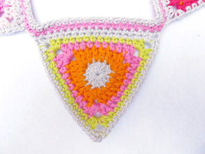 Springtime Bunting Crochet Kit and Pattern in Rico Design Yarn