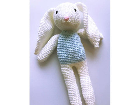 Bertie the Bunny Crochet Kit and Pattern in Cygnet Yarn
