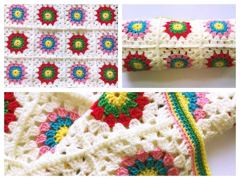 Picnic in the Park Blanket Crochet Kit and Pattern in Cygnet Yarn