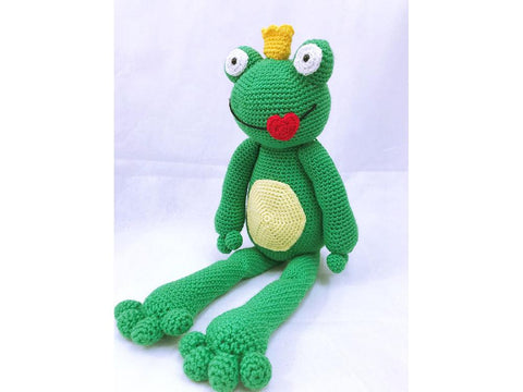The Frog Prince Crochet Kit and Pattern in Cygnet Yarn (CY1228)