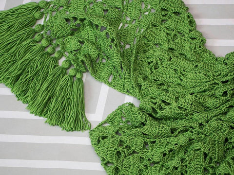 Woodland Wrap Crochet Kit and Pattern in Cygnet Yarns