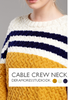 Cable Crew Neck Kit - Deramores Studio DK - Yarn and Digital Pattern
