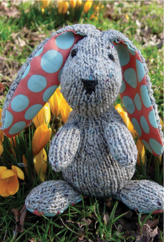 Edmund the Easter Bunny in Rowan Baby Merino Silk DK - Digital Version