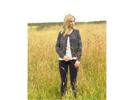 Ladies Cardigan in James C. Brett Mojo Magic Chunky (JB545)