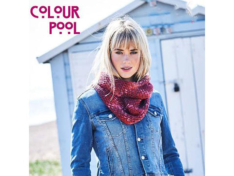 Coastal Cowl in Stylecraft Colour Pool