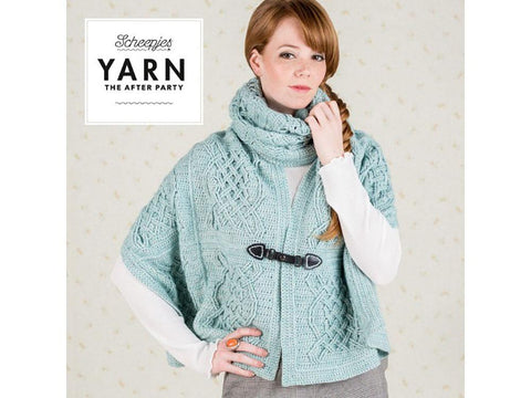 YARN The After Party 25 - Crochet Kit and Pattern Celtic Tiles Wrap