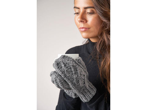 Charlotte Mitts in Patons Wool Blend Aran