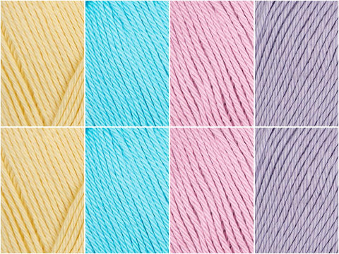 Cotton Candy Colour Pack in James C. Brett It's Pure Cotton
