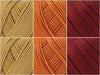 Rowan Cotton Glace Autumn Leaves Colour Pack