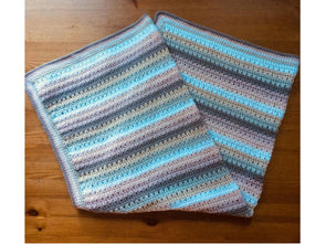 Crochet Baby Blanket by Fran Morgan in Rico Design Baby Classic DK