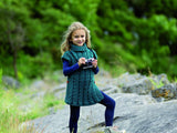 Sorcha Cabled Tunic in West Yorkshire Spinners The Croft Shetland Colours