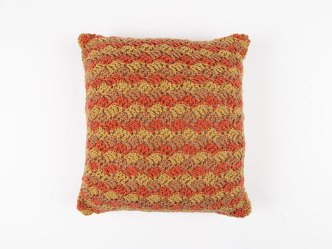 Cross Hatch Cushion by Val Pierce in Deramores Studio DK