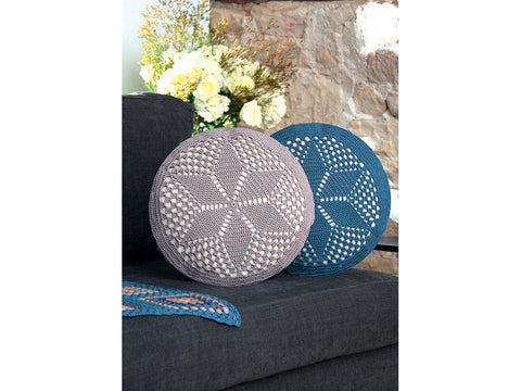 Cushions Crochet Kit and Pattern in Schachenmayr Yarn