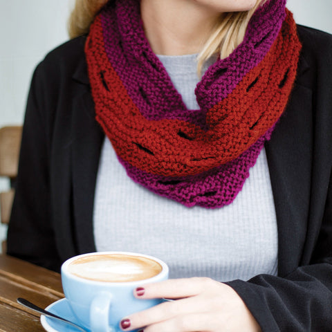 Cutout Cowl by Vickie Howell - Digital Product