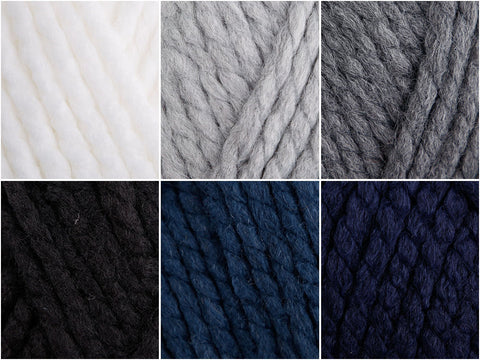 Just Denim Colour Pack in Cygnet Yarns Seriously Chunky
