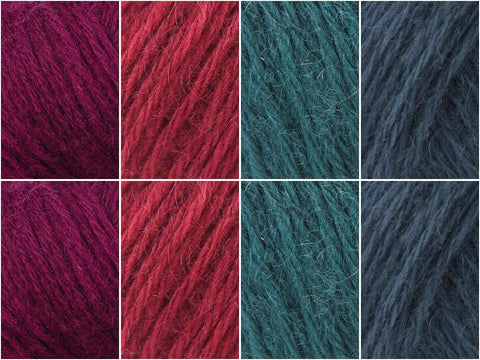 Deep Jewels Colour Pack in Rowan Kid Classic