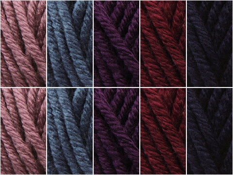 Deep Violet Secret Colour Pack in Deramores Studio Chunky