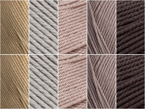 Desert Colour Pack in Patons 100% Cotton DK