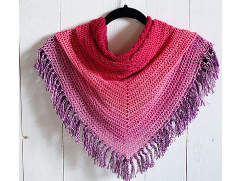 Double Crochet All the Way Shawl by Wilmade in Scheepjes Whirl