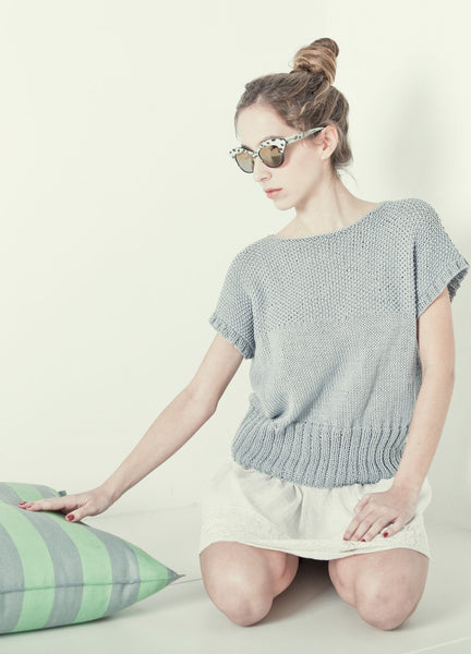 Dill Tee by We Are Knitters - Mint