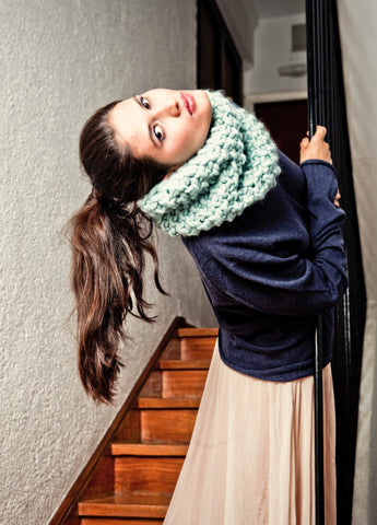 Downtown Snood Kit by We Are Knitters