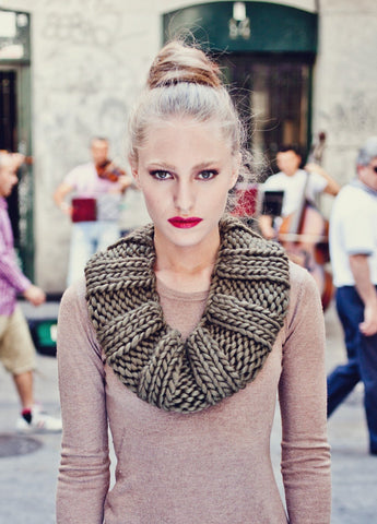 Empire Snood by We Are Knitters