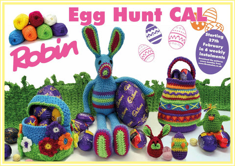 The Robin Easter Egg Hunt CAL