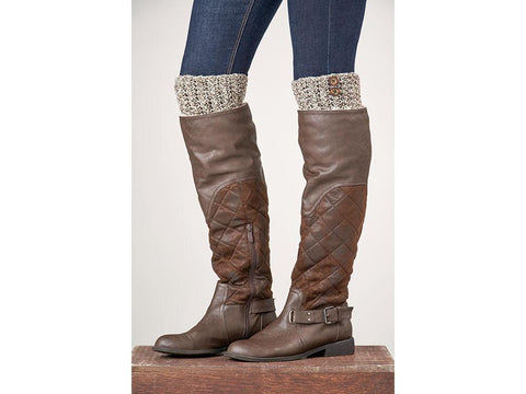 Ella Boot Toppers in Patons Wool Blend Aran