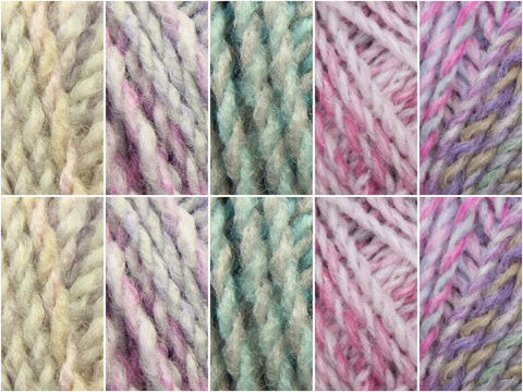 Enchanted Forest Colour Pack in James C. Brett Marble Chunky