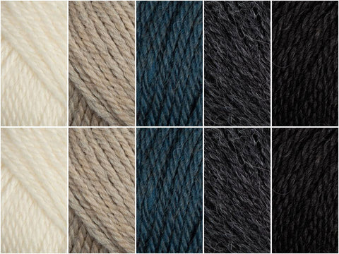 Essentials Colour Pack in Patons Alpaca Merino Twist