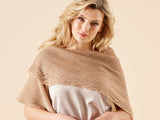Saskia Lace Shawl Knitting Kit and Pattern in West Yorkshire Spinners Yarn