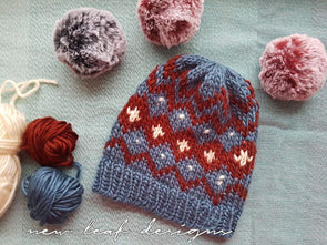 Finn Hats by New Leaf Designs in Scheepjes Namaste