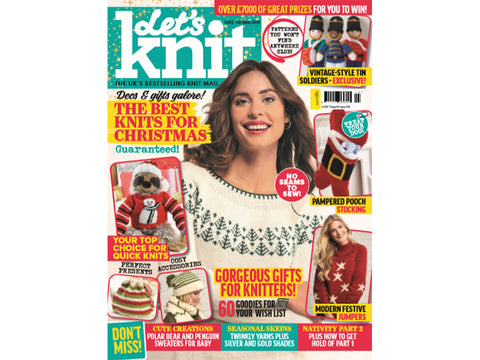 Let's Knit Magazine - Issue 150